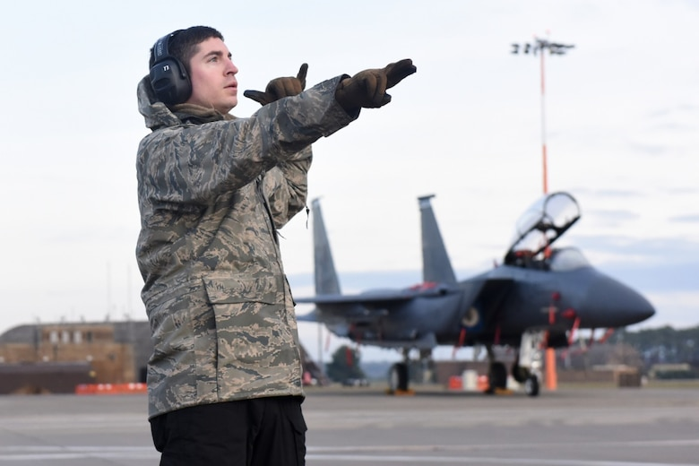 U.S. Air Force Reserve Airmen assigned to the 414th Fighter Group at Seymour Johnson Air Force Base, N.C., participated in their annual training Nov. 9 – 23, 2019 here.