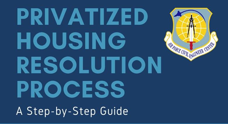 Privatized Housing Dispute Resolution Process