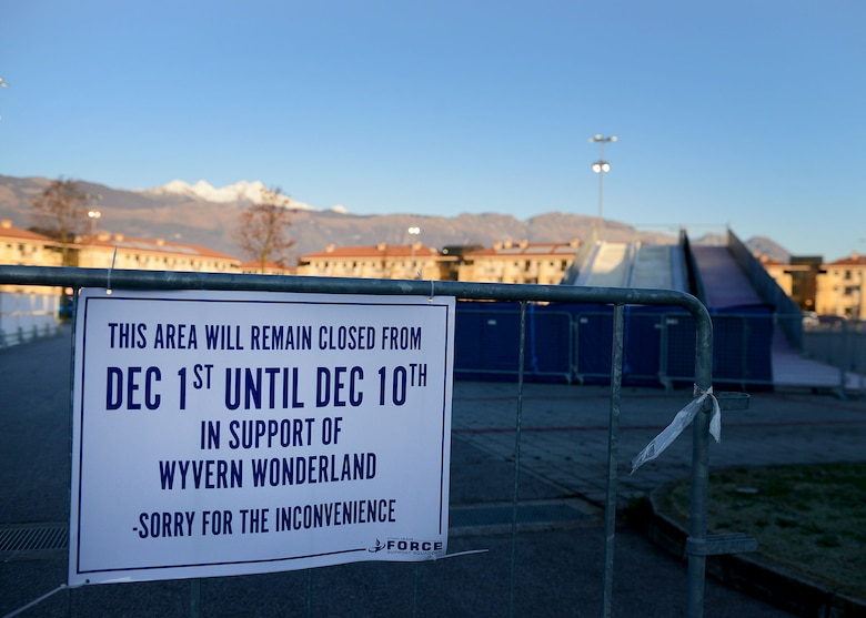Wyvern Wonderland is an annual event that includes a tree lighting, ice skating rink, tubing, food, live entertainment and more.