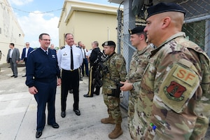 Gen. Lengyel visits the Puerto Rico National Guard