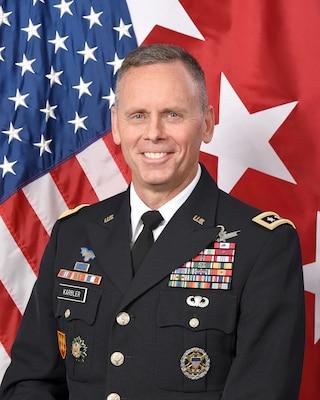 LTG Daniel Karbler, USASMDC Commanding General, ASU 8x10