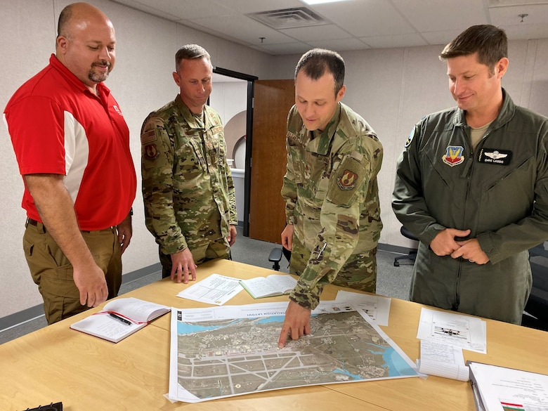 The Tyndall Project Management Office is rebuilding the base and the U.S. Army Corps of Engineers became an important ally as the rebuild moved forward.