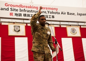 Yokota breaks ground for AFSOC Airfield Apron