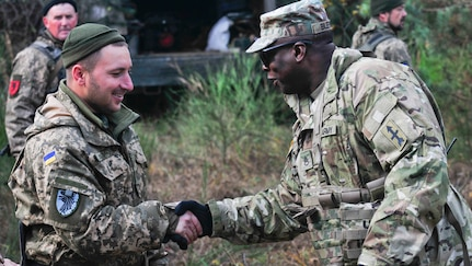 Red Arrow Soldiers deployed in Ukraine for multinational mission