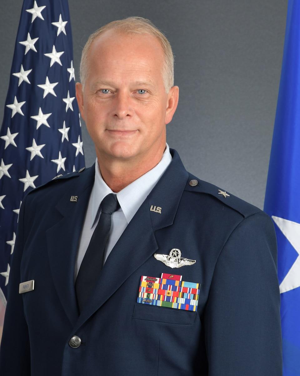 Brig. Gen. Steven B. Parker is the Deputy Commander, Twenty-Second Air Force, Dobbins Air Reserve Base, Georgia.