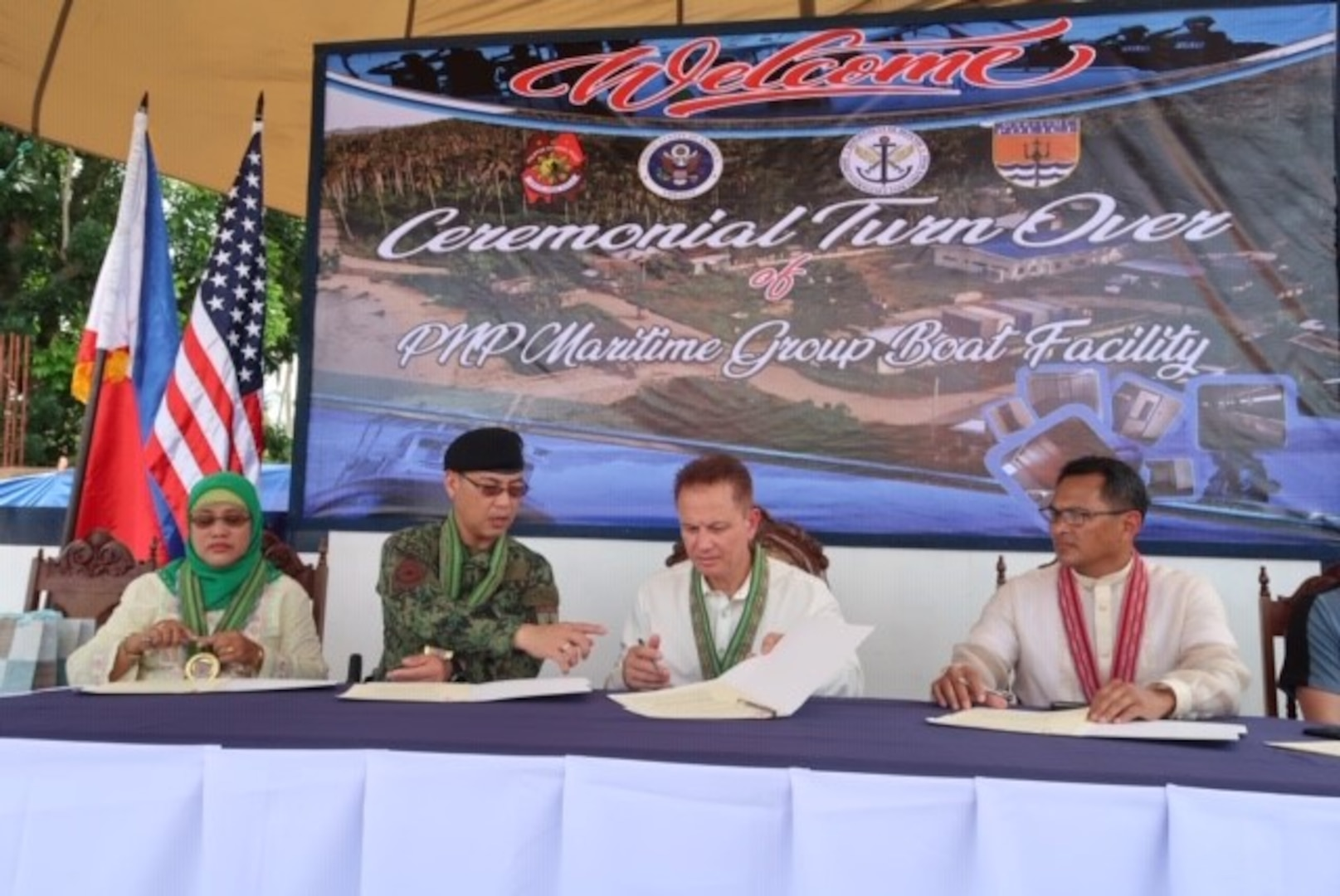 U.S. and Philippine Partners Inaugurate Philippine National Police Patrol Boat Facility