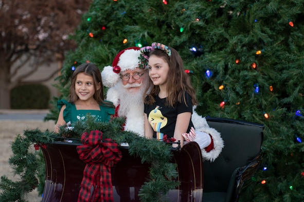 97 AMW hosts annual Holiday Tree Lighting.