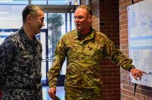 JASDF ASC commander visits AMC and TRANSCOM