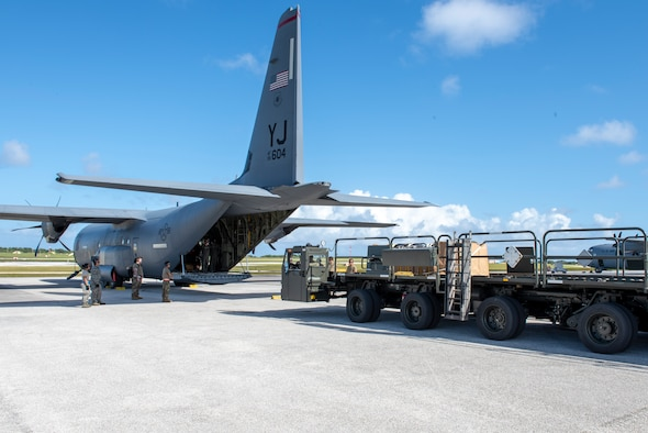 Airmen from the 374th Logistics Readiness Squadron