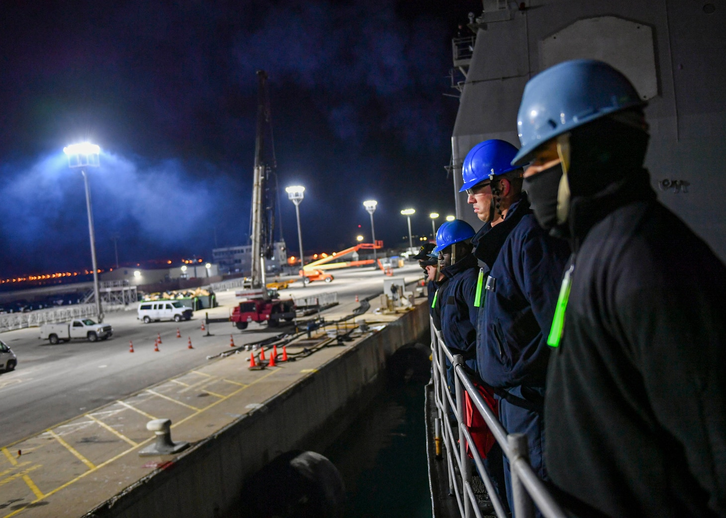 Rota, Spain, USS Normandy (CG 60), Port visit