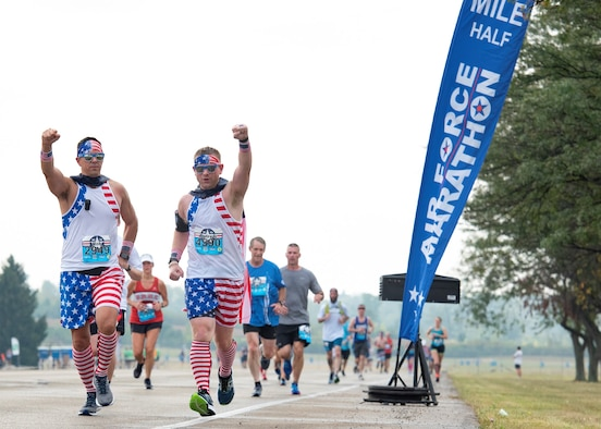 The 2020 Air Force Marathon registration will open on Jan. 1 with a New Year's resolution special and will be valid through Jan. 3. Prices will increase throughout the year leading up the Air Force Marathon on Sept. 19. (U.S. Air Force photo/Michelle Gigante)