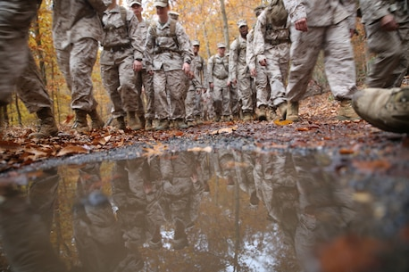 Photos from the H&S Battalion Hike