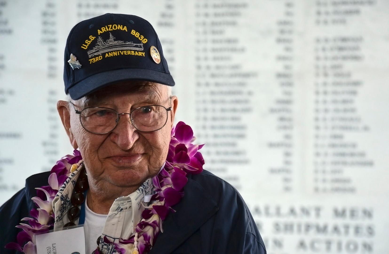 Lauren Bruner Laid to Rest among USS Arizona Shipmates