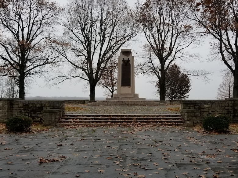 The Wright Brothers Memorial near Area B of Wright-Patterson Air Force Base will be the site of the ceremony to commemorate the 116th anniversary of the Wrights' first powered flight. (Courtesy photo)