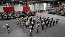 Aircraft Carrier , Carrier Strike , Commissioning , CSG , HMS Prince of Wales , News Event , Parade , POW , POWCOM , press release , Prince of Wales R09 , Surface Ship , UK
