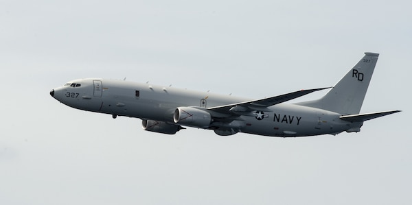File photo of a U.S. Navy P-8A Poseidon.