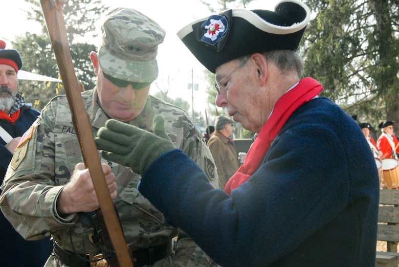 Army Reserve general commemorates turning point in American Revolution