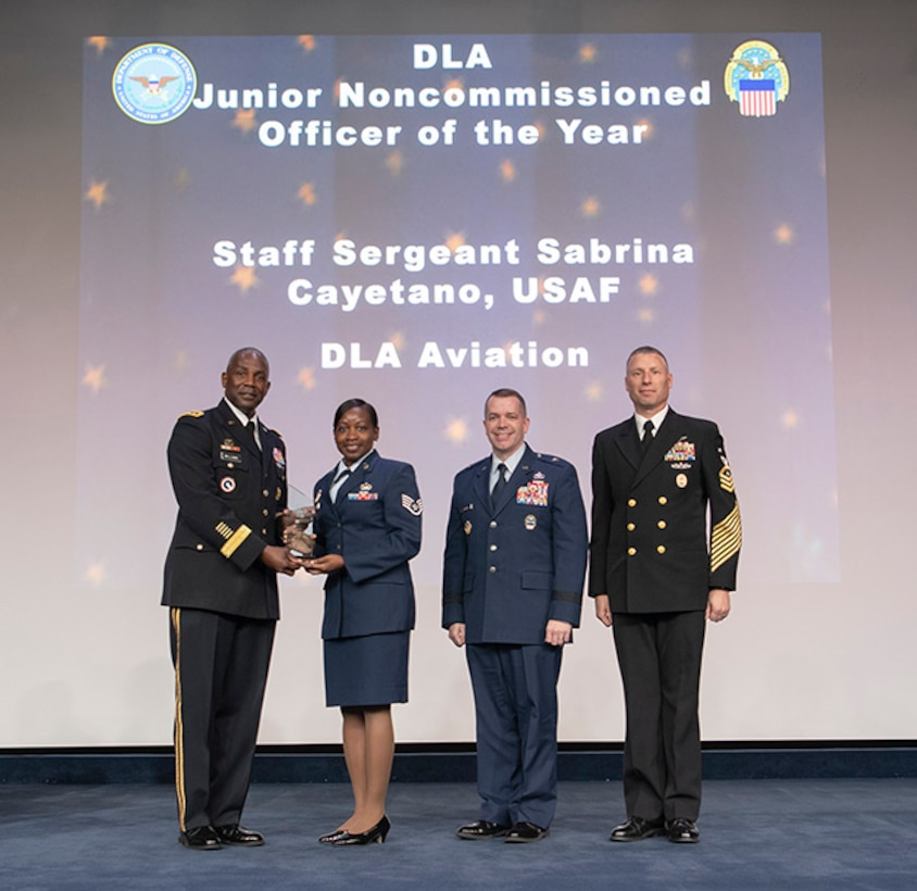 Buttenhoff honored during DLA Annual Employee Recognition Awards Program
