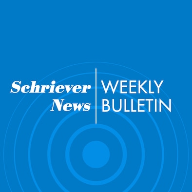 Schriever news weekly bulletin graphic