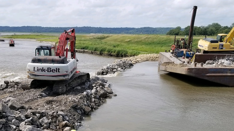 This year's projects also included $113 million worth of work at 20 different levees in response to record flooding.