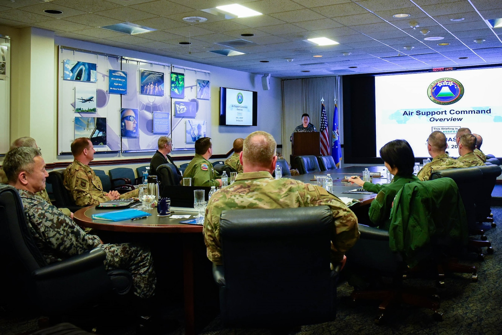 Air Mobility Command hosts Koku Jieitai Air Support Command Commander for Bilateral Visit