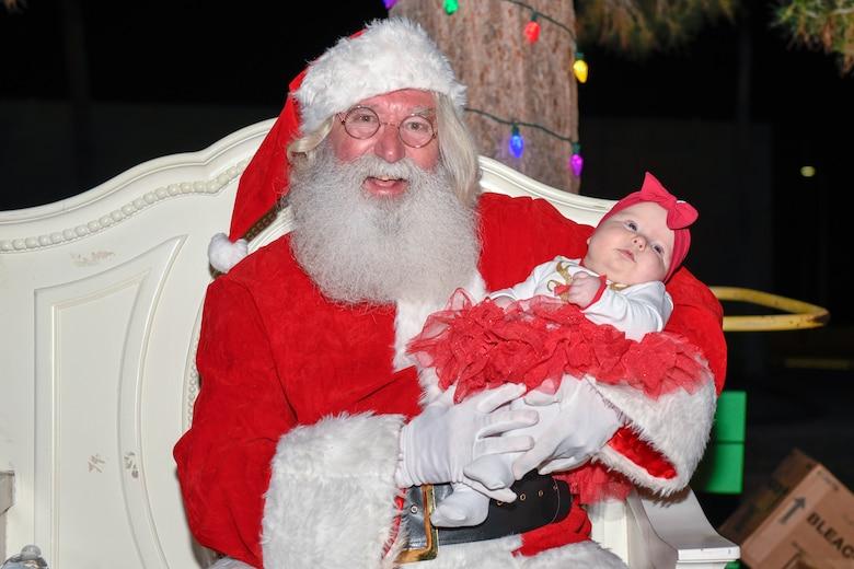 Luke brings the cheer through annual Holiday Magic event