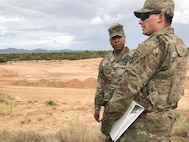 With the launch of the new Assignment Interactive Module 2.0 marketplace, Col. Kendall Clarke, (left) commander of 10th Mountain Division's 3rd Brigade Combat Team, was faced with the challenge of filling critical positions before the market closed on Dec. 6, 2019. His brigade out of Fort Polk, La., was now competing to fill 51 billets, against the rest of the Army. (Photo Credit: U.S. Army photo)
