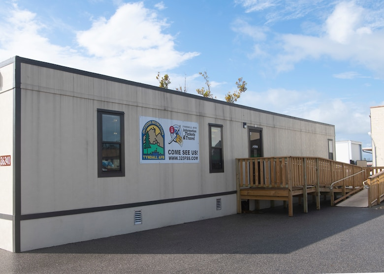 325th Force Support Squadron Outdoor Recreation building