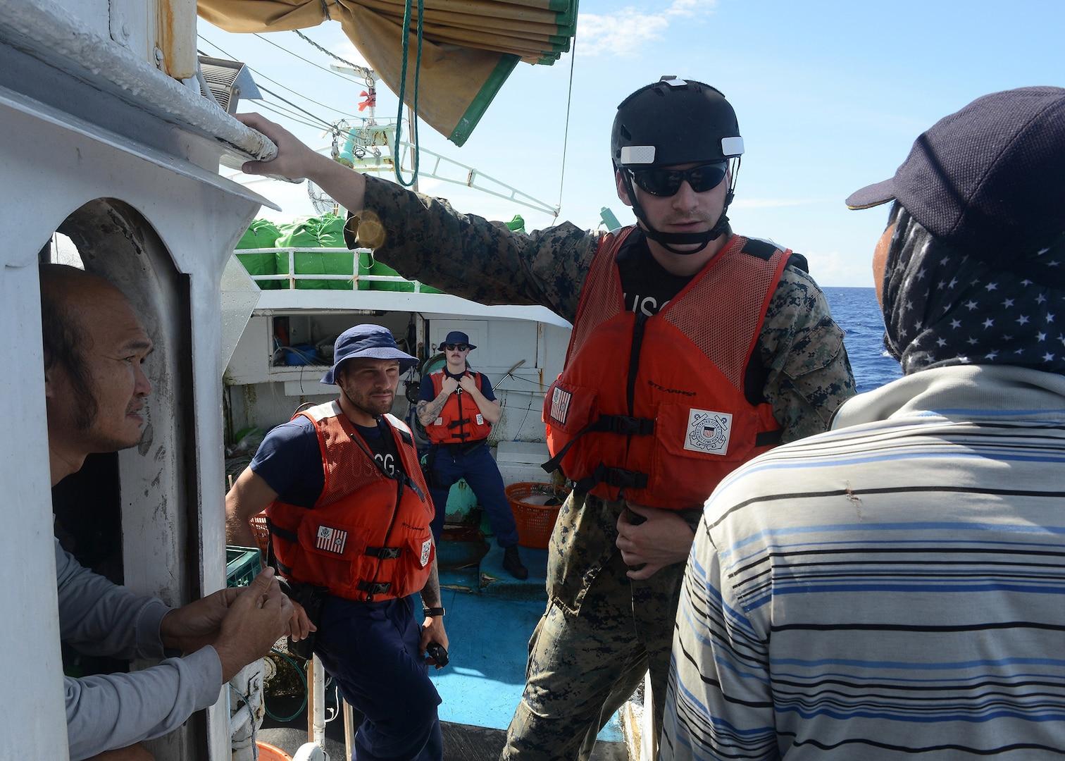 "Operation Kurukuru: USCGC Washington Supports ""Noble Cause"" through Teamwork"