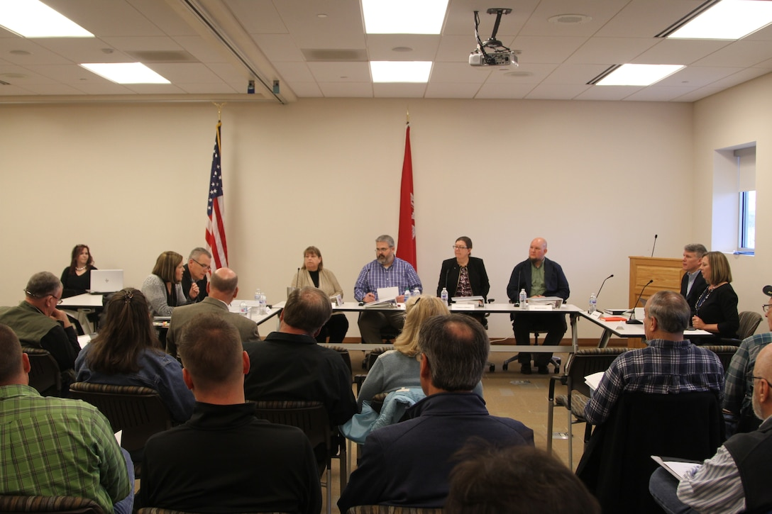 The Table Rock Lake Oversight Committee hosts its first of four public meetings on Dec. 12 at the Dewey Short Visitor Center near Branson, Missouri.