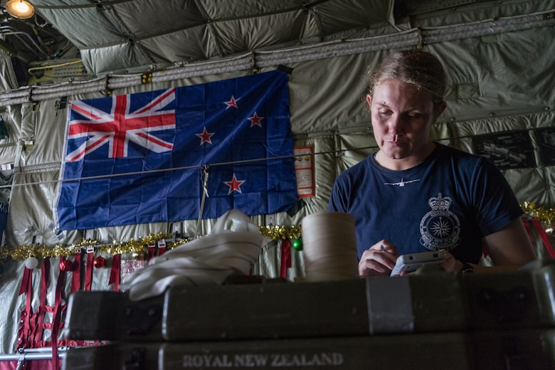 Royal New Zealand Air Force CPL Toni Thompson