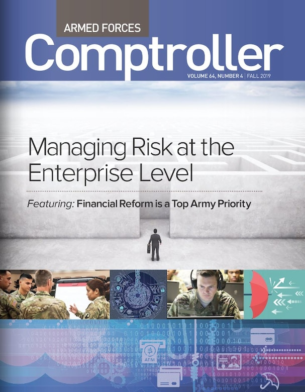 Armed Forces Comptroller magazine, Fall 2019