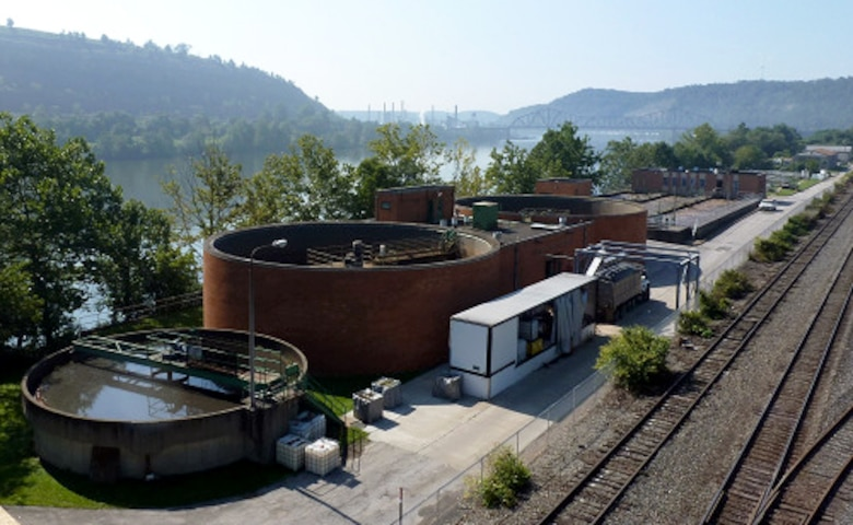 Steubenville Wastewater Treament Plant.