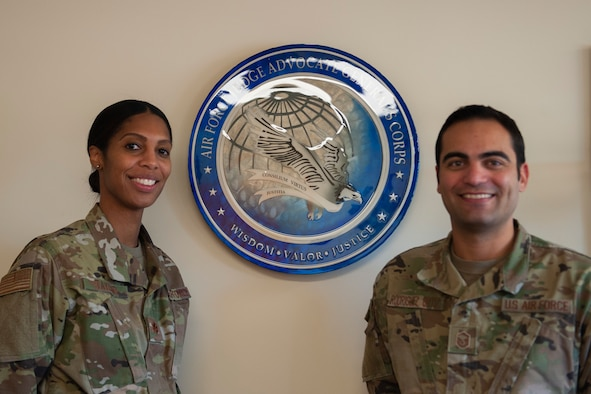 Photo of Maj. Taylor and Master Sgt. Rodriguez Ortiz