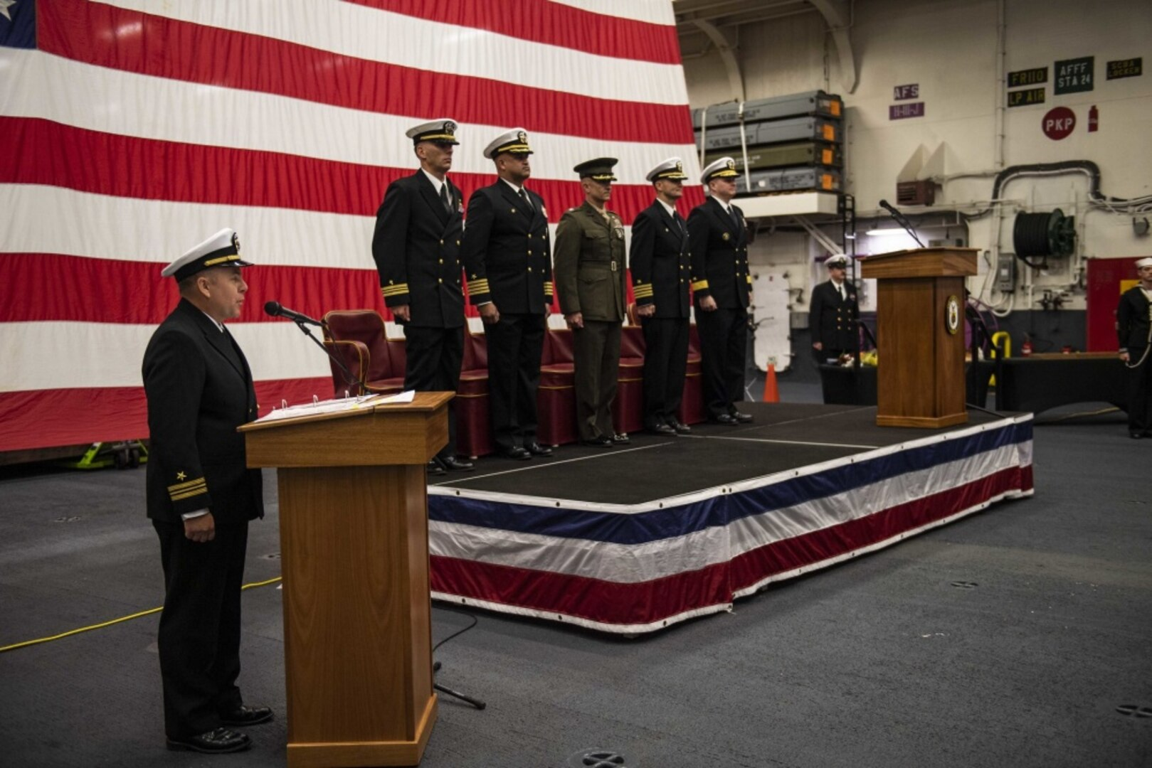 Lebron takes over as Amphibious Squadron 11 Commodore
