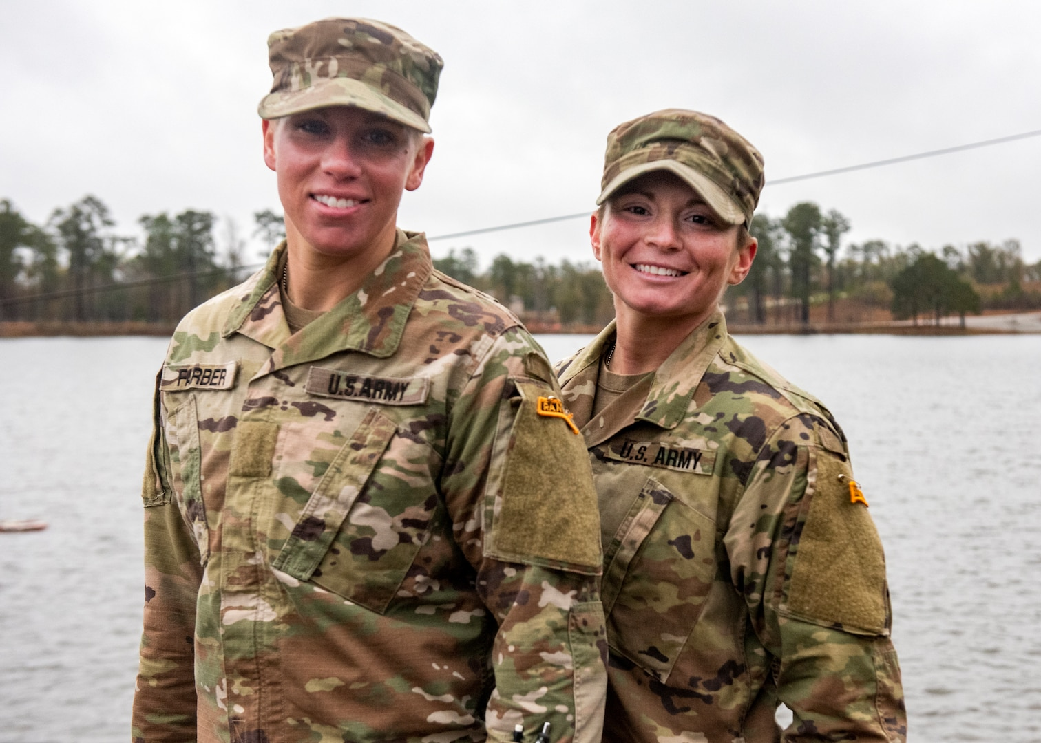 U.S. Army Sgt. Danielle Farber, Pennsylvania National Guard 166th Regional Training Institute Medical Battalion Training Site instructor, and U.S. Army Staff Sgt. Jessica Smiley, South Carolina National Guard military police non-commissioned officer serving with the U.S. Army Training and Doctrine Command, on Dec. 13, 2019, became the first enlisted National Guard women to graduate U.S. Army Ranger School at Fort Benning, Georgia.