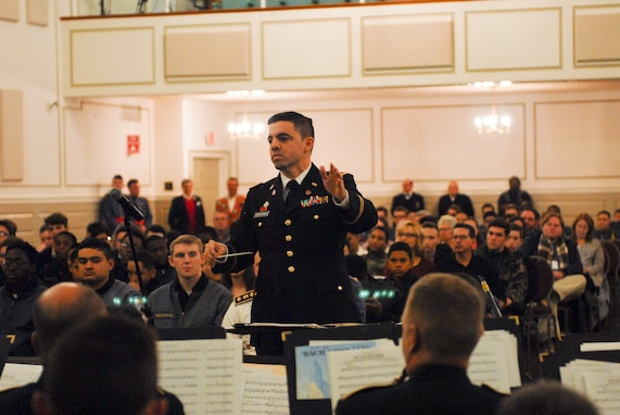Army Reserve band mentors youth at Valley Forge Military Academy