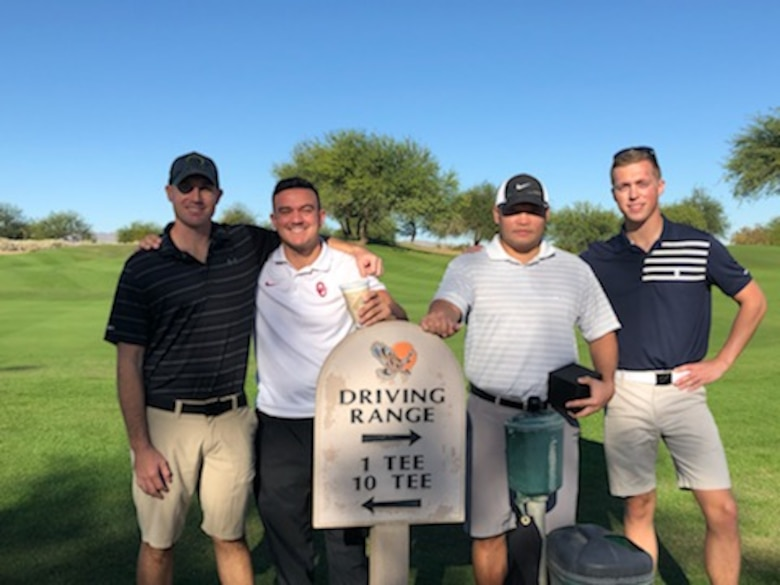 LRS golf team takes first place in intramural golf championship