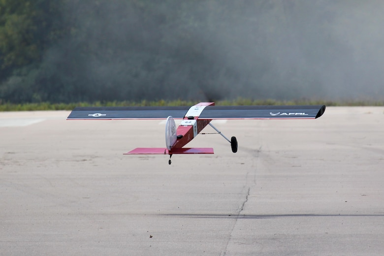 The Air Force Research Laboratory-developed Variable Camber Compliant Wing successfully completed a series of flight experiments in September and October of 2019. This unique wing concept changes shape to improve aerodynamic performance and adapt itself to various flight conditions and missions. (U.S. Air Force Photo)
