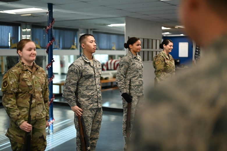 Above reproach: Honor Guard offers Airmen the chance to serve