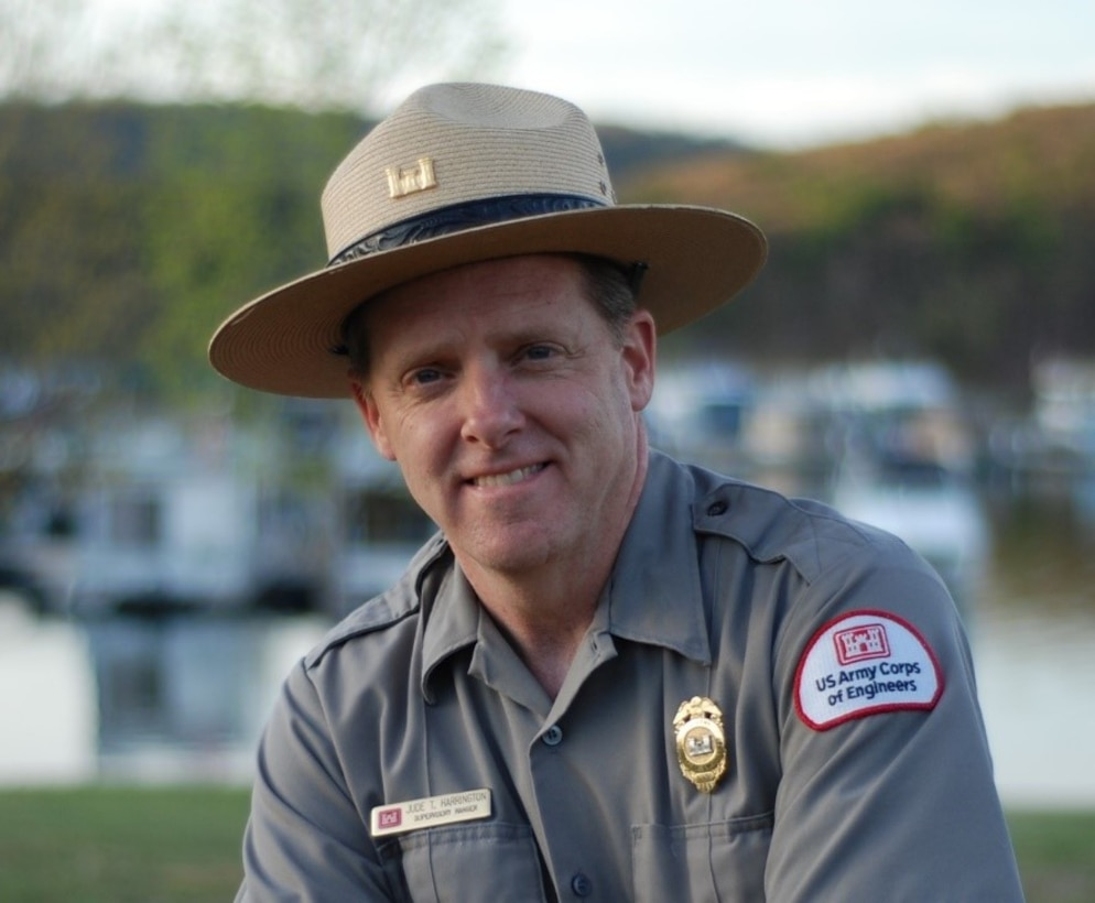 During his 39-year career with the Corps, Harrington has worked at seven different lakes throughout five Corps Districts, including 27 years as a Raystown ranger. In 2014, he received the American Recreation Coalition's Legend Award for outstanding service in the field of outdoor recreation.
