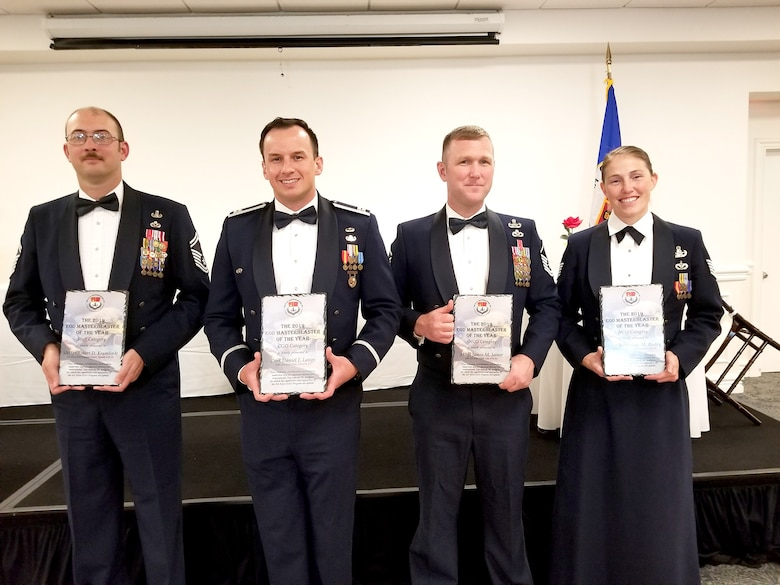 Winners of 2019 EOD Master Blaster award.