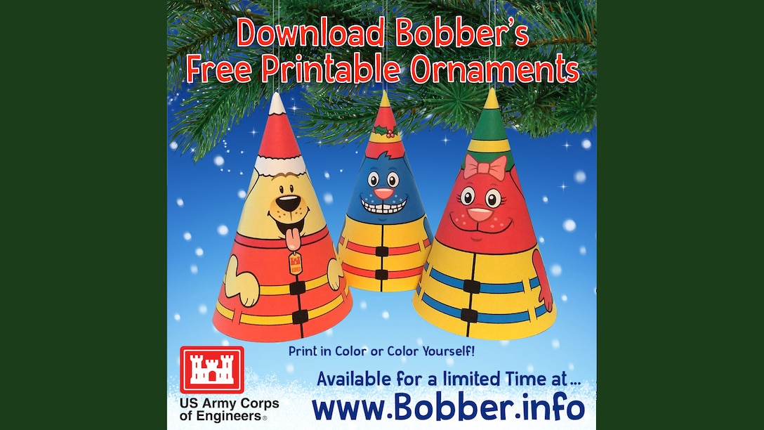 Just in time for the holidays: a new Bobber the Water Safety Dog activity! While making these easy-to-make ornaments the entire family can watch Bobber cartoons together at www.Bobber.info.