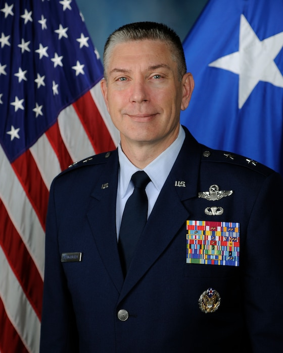 Maj. Gen. William A. Spangenthal is the Director of Operations and Communications, Headquarters Air Education and Training Command, Joint Base San Antonio-Randolph, Texas.