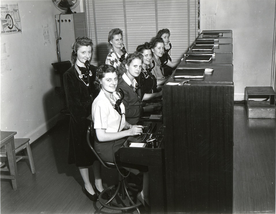 Switchboard Operators 1943