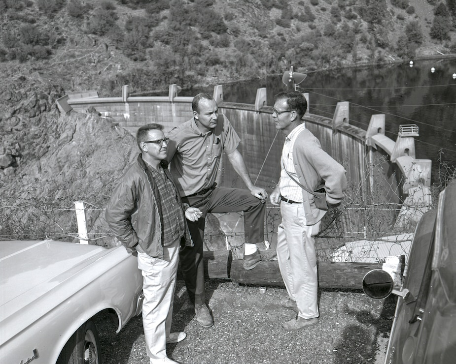 North Fork Dam Engineers 1965