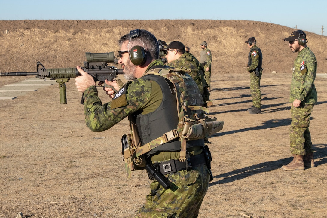 Joint U.S. and Canadian MP range