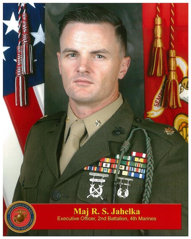 Maj. Jahelka Bio Photo