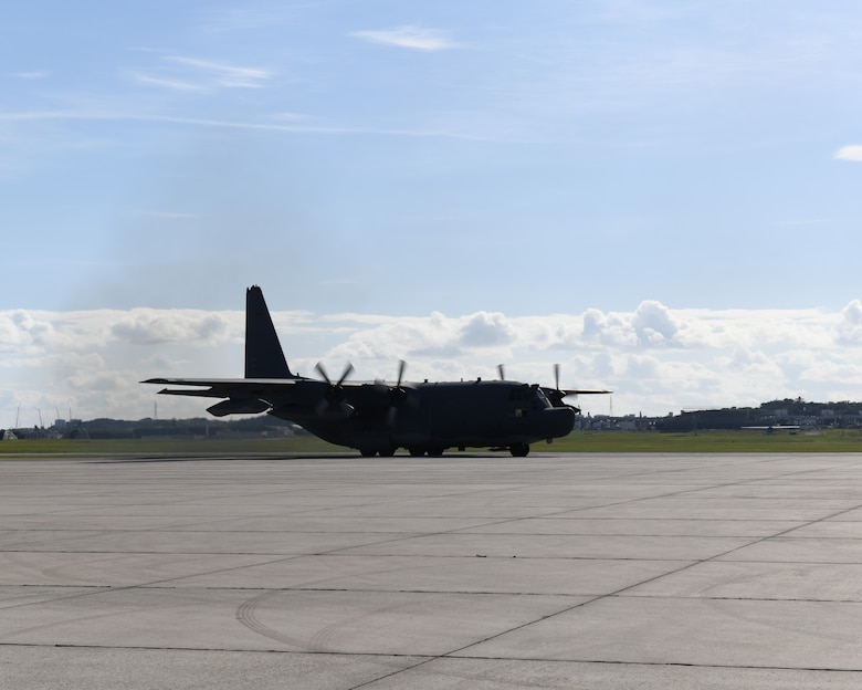 After 24 years of service in the Pacific the last of the Air Force Special Operations Command (AFSOC) MC-130H Combat Talon II aircraft returned to Hurlburt Field, Fla. Dec. 4, 2019.