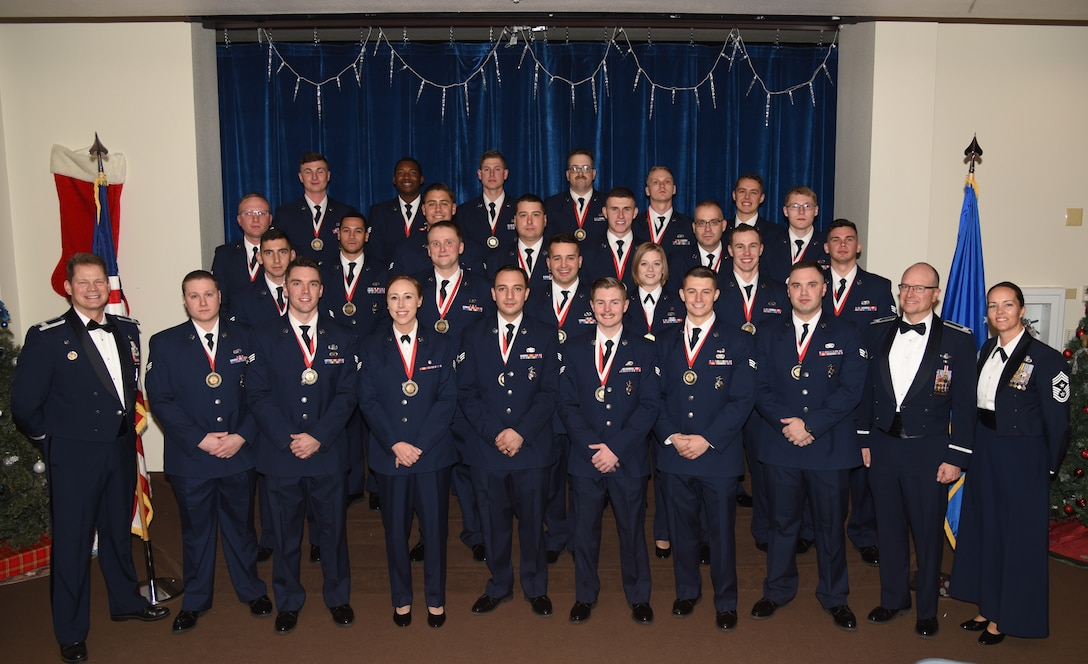 Airman Leadership School class 20-B graduates